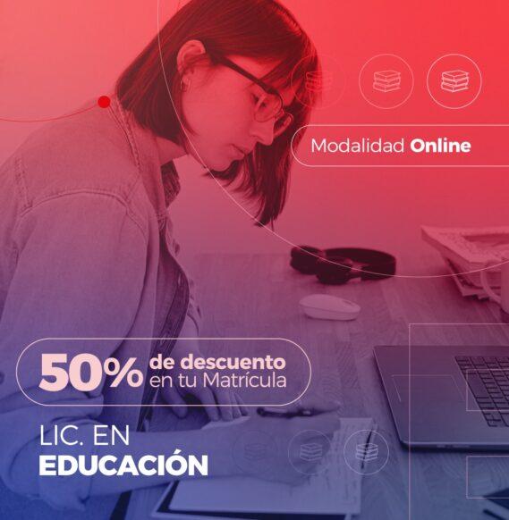 Lic. en Educación