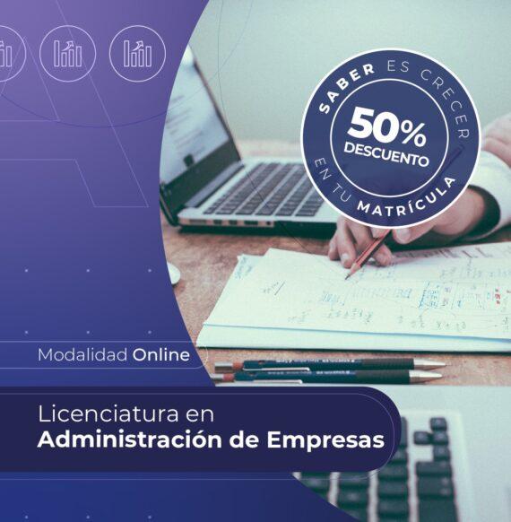 Lic. en Administración de Empresas