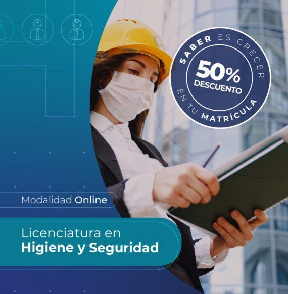 Lic. en Higiene y Seguridad en el Trabajo